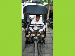 Surat Polio Affected Man Started 17500 Km Bharata Yatra With Mission