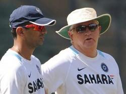 Rahul Dravid Will Replace Duncan Fletcher
