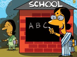 Gujarat S Mehsana District Issue Strict Sari Code For Teachers