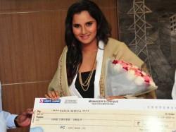 Telangana Govt Gives Rs 1 Cr Sania Mirza Us Open Win