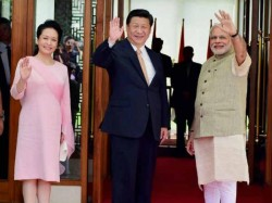 Chinese President Xi Jinping Receives Red Carpet Welcome Ahmedabad