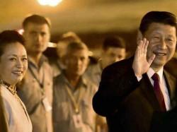 Chinese President Xi Jinping Reaches New Delhi