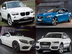 Comparison Between Volvo V40 Vs Bmw X1 Vs Audi Q3 Vs Mercedes Benz C Class
