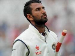 Cheteshwar Pujara Given Handled The Ball