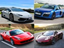 Car Comparison Lamborghini Huracan Vs Its Supercar Rivals