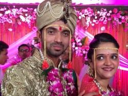 Photos Ajinkya Rahane Marries Radhika