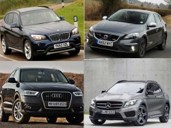 Comparison Mercedes Gla Vs Audi Q3 Bmw X1 Volvo V40 Cross