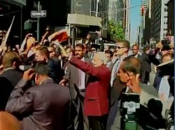 Photo New York Residents Have Done Happily Welcomes Narendra Modi In America Visit