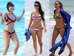 Hottest Kim Kardashian Bikini Pics