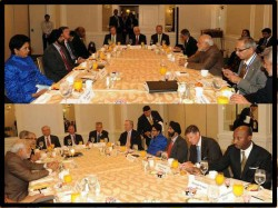 Photo Indian Pm Narendra Modi Breakfast Meeting With World Top Companies Ceo New York