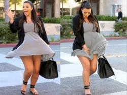 Kim Kardashian Wardrobe Malfunction Pics