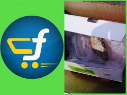 Flipkart Sent Stone Against Replacement Mobile Phone Moto G To Delhi Based Customer