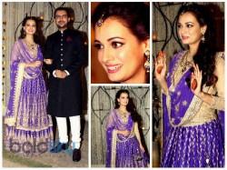 Bridal Diaries Dia Mirza S Mehandi Sangeet Ceremony
