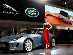 Tata S Launch Land Rover Factory China