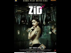 Revealed Zid Poster Priyanka Chopra Cousin Bares It All