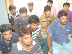 Rajkot Police Arrested 19 Person With 48 Weapon