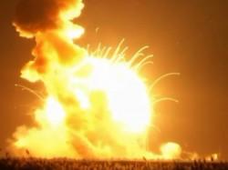 Nasa Rocket Explodes On Launch Pad