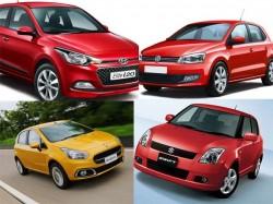 Comparison Elite I20 Vs Fiat Punto Evo Vs Volkswagen Polo Vs Maruti Swift