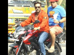 Rare Unseen Shooting Pics Ajay Devgn Sonakshi Sinha Action Jackson