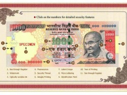 Ways How Identify 1000 Rupees Note
