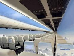 Windowless Planes Hit Skies Next Decade