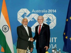 Prime Minister Modi Raises Black Money Issue G20 Summit In Brisbane Australia