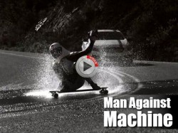 Mercedes Benz A Class Man Vs Machine Challenge