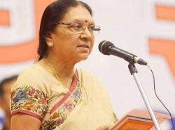 Gujarat Cm Anandiben Patel Congratulate Raghubar Das