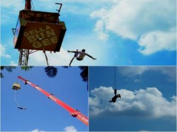 Top 5 Places Bungee Jumping India