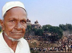 Home Minister Calls Oldest Litigant Of Babri Mosque Dispute