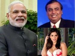 Pm Modi Mukesh Ambani Sunny Leone Top The Yahoo India 2014 Search List