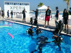 Sony Opens World S First Underwater Xperia Aquatech Store