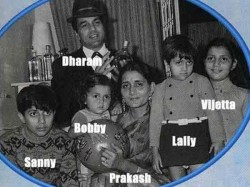 Unseen Rare Pictures Of Dharmendra With First Wife