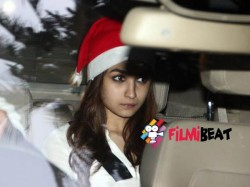 Ranbir Kapoor Christmas Party Bollywood Celebrities