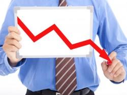 Sensex Falls Sharply As Global Markets Sink On Crude Euro Greece Worries
