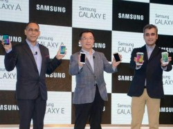 Samsung Launches Four New Smartphones India