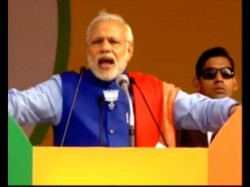 Video Pm Narendra Modi Addressing Rally Rohini Delhi