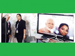 Selfie With Narendra Modi Possible Without His Presence Augmented Reality Technology
