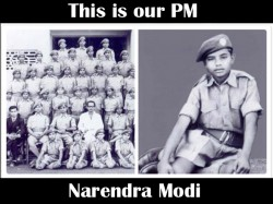 Pm Modi Share His Childhood S Experiences Ncc With Ncc Cadet