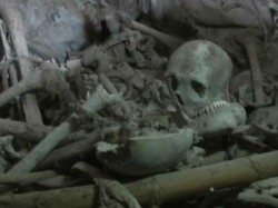Over 100 Human Skeletons Found Unnao Police Station