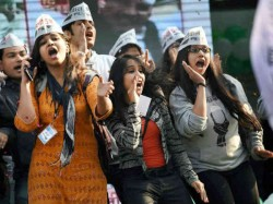 Don T Underestimate The Power The Aam Aadmi Party S Celebration See In Pics