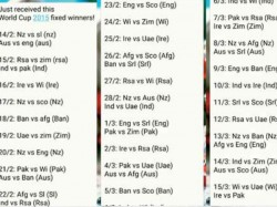 Icc World Cup 2015 Whatsapp Message Says World Cup Is Fixed