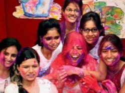 Photos Of Holi Celebration