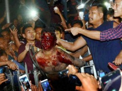 Angry Mob Storms Jail Makes Alleged Rapist Parade Naked Town Before Beating Him Death