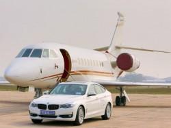 Bmw Luxury Vehicles Ferry Vips At Delhi International Airport