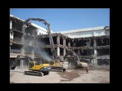 Illegal Construction Demolished Juhapura Ahmedabad Stoned