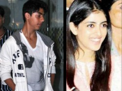 Pics Aryan Khan Navya Naveli Are Ready A Big Bollywood Debut