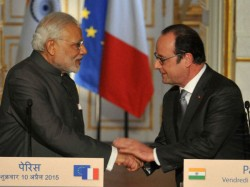 Pics Modi Visit India France Ink 17 Agreements