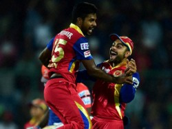 Ipl 8 Rain Forces Match Be Called Off Bangalore Rajasthan Share Points