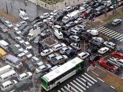 Five Worst Traffic Jams In History